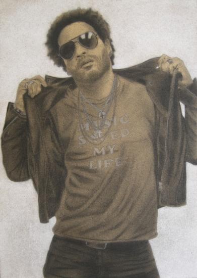Lenny Kravitz by DOM
